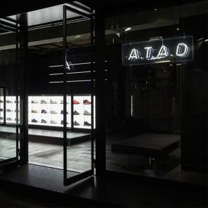 """""""ストリートシューズバー""""A.T.A.D.が原宿にオープン!"""