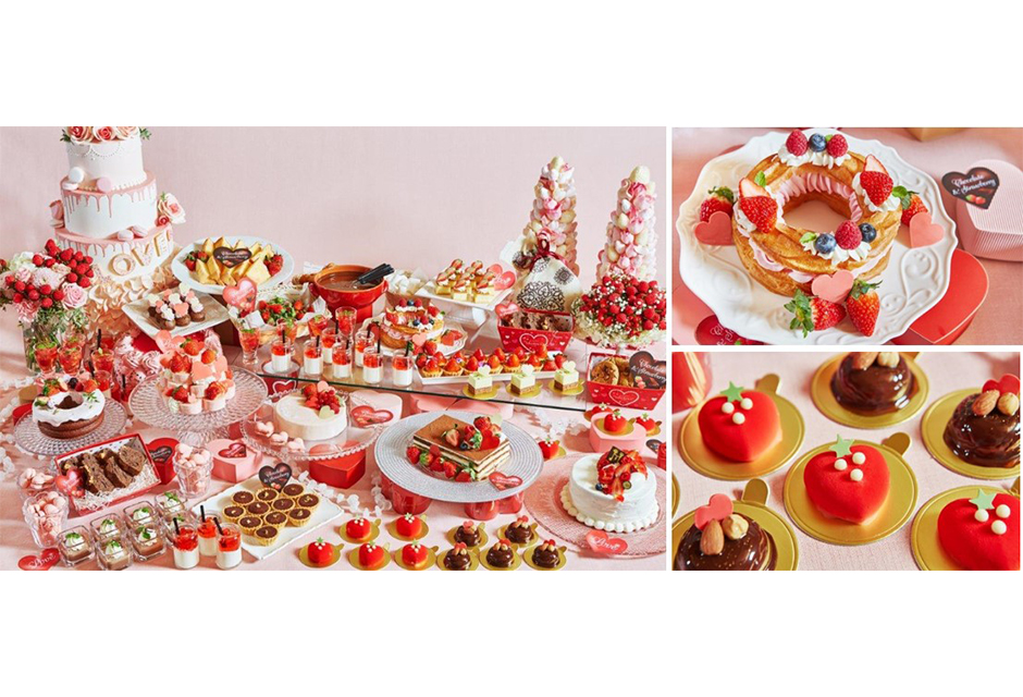 バレンタインスイーツに舌鼓♡ いちごとチョコレートのブッフェが開催!