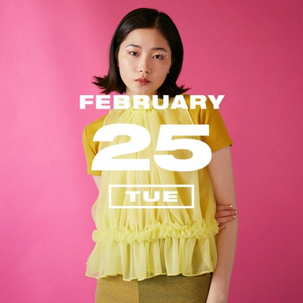 365 ANNIVERSARY CALENDAR 今日は何の日? 〜2/25