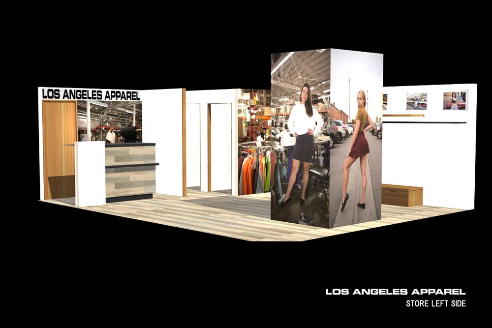LOS ANGELES APPARELが日本上陸後初となる期間限定ショップをオープン