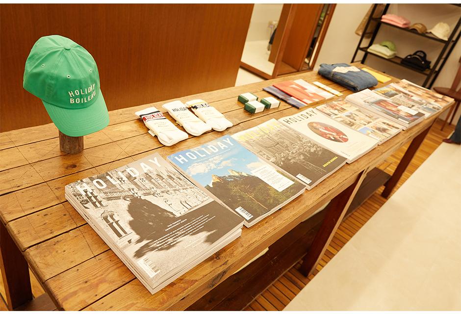 フランク・デュランがディレクションするHOLIDAY BOILEAUのPOP UP STOREが渋谷PARCOに登場!