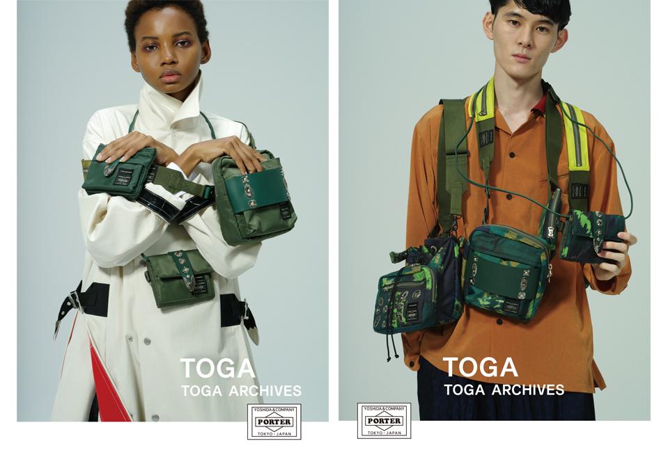 TOGA × PORTERによるコラボレーションバッグがローンチ