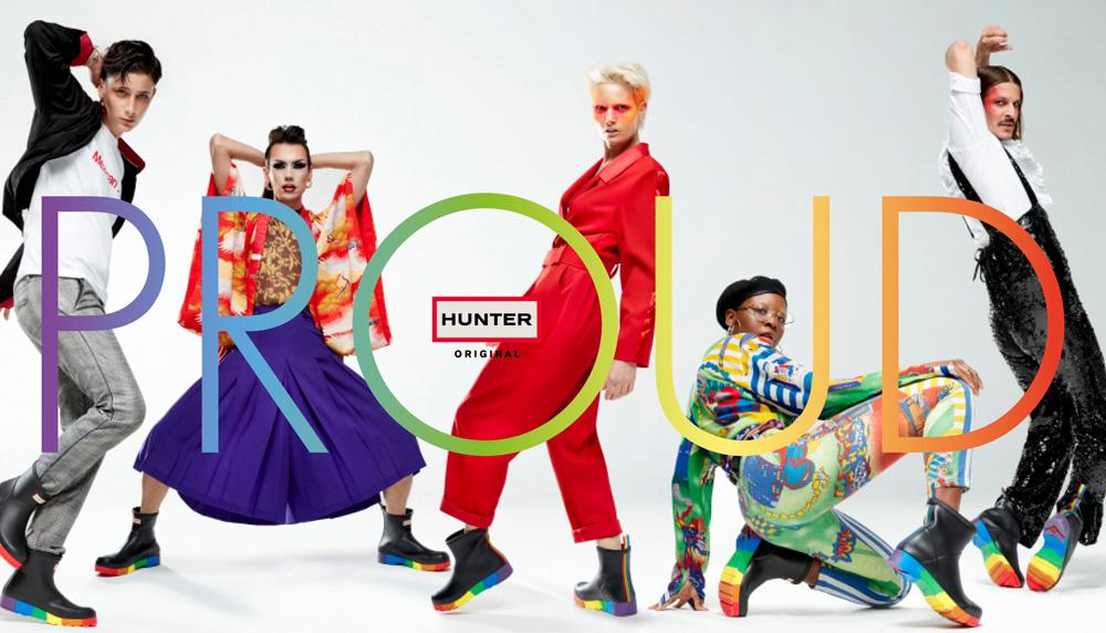ハンターから国際プライド月間に向けた新コレクションが発売