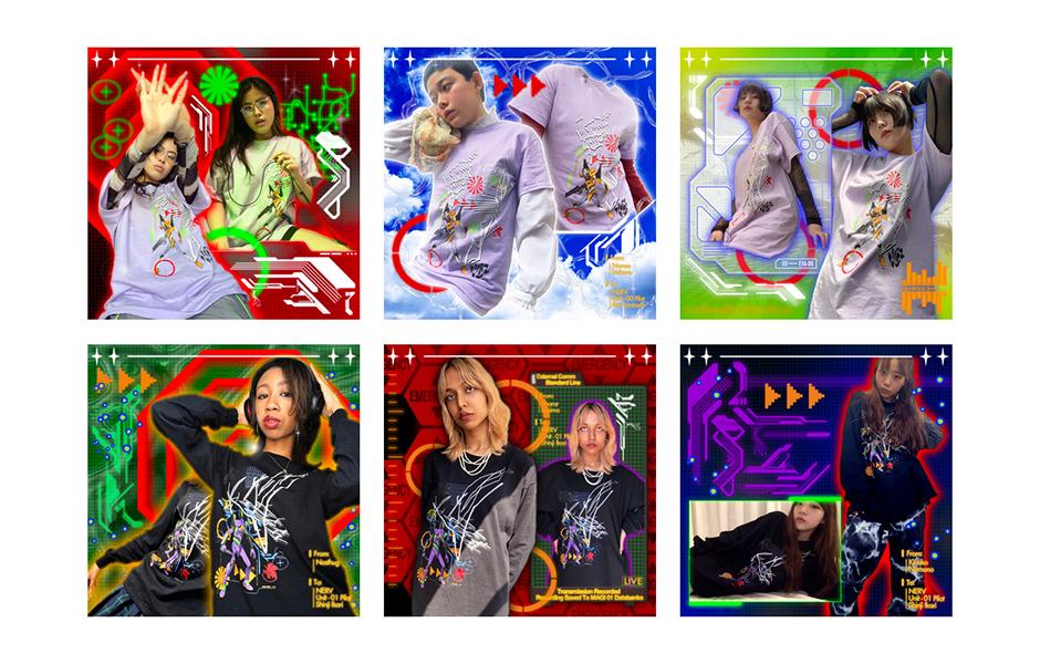 気鋭デザイナー MAMI HANAI×エヴァンゲリオンによるコレクションが発売