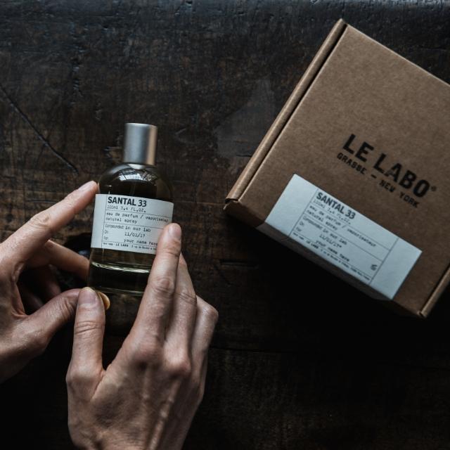 LE LABOで出会う最高の香り