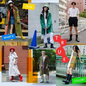 AIGLEをまとったストリートファッションスナップ