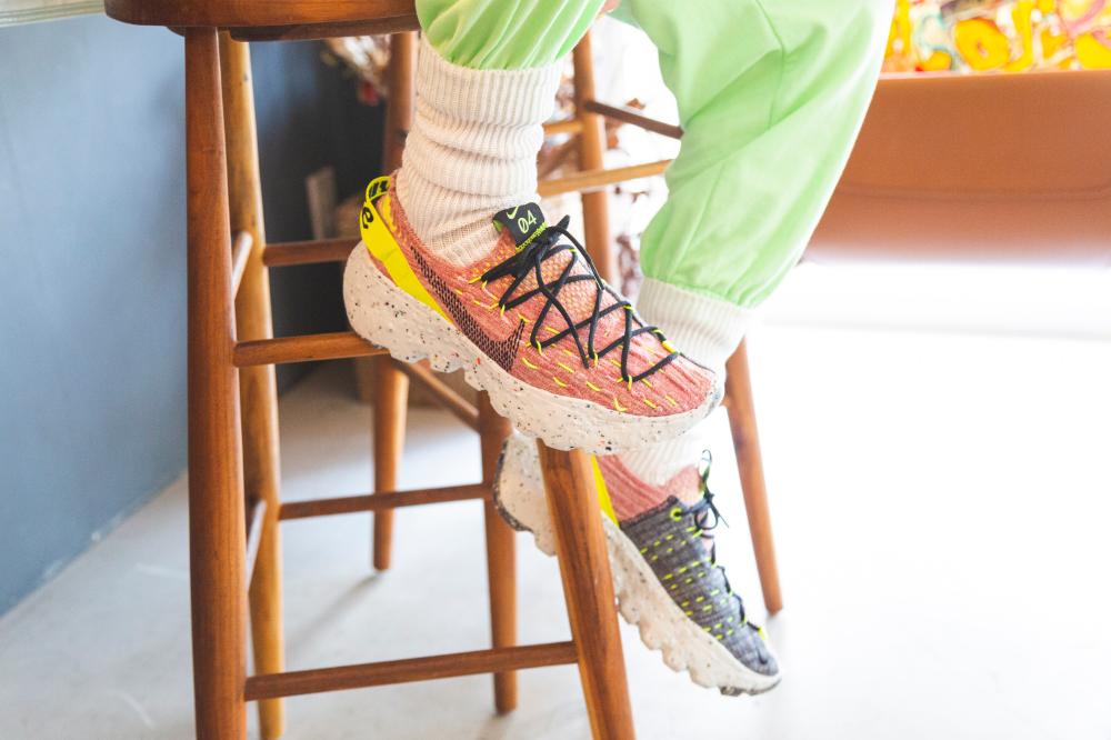 サステイナブルなNIKEの新作スニーカーがatmos pinkにて発売! リメイクアクセサリーのオンラインワークショップも開催