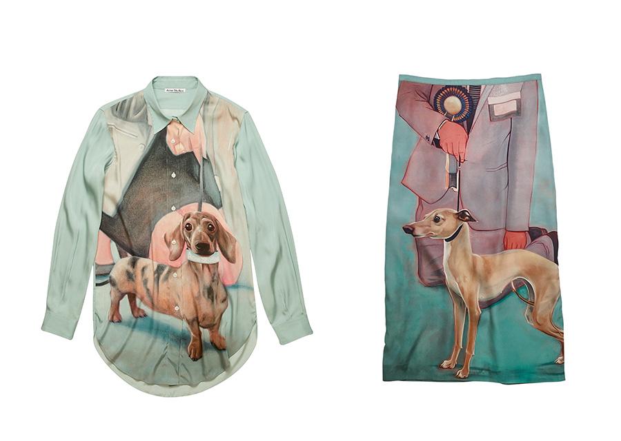 Acne Studiosから犬好きに贈る2020AWコレクションが登場