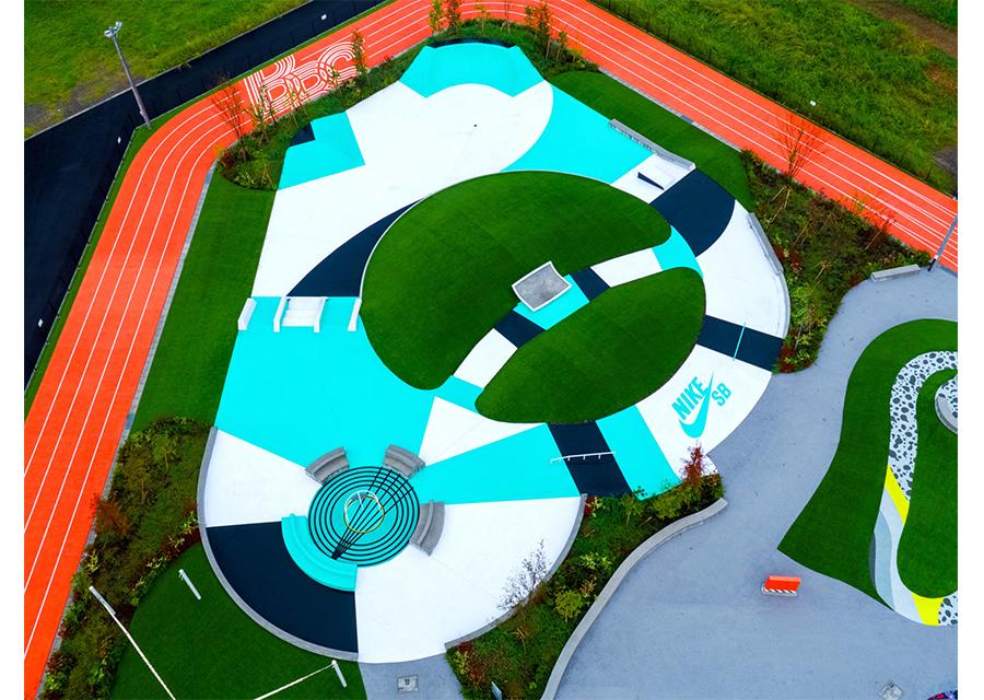 ナイキがデザインを手掛けたスポーツパークが豊洲にオープン!