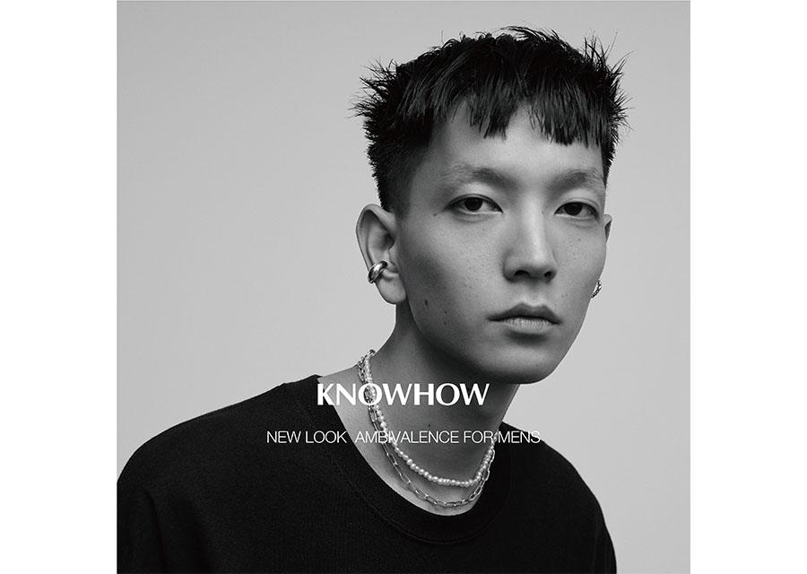 イヤーカフブランド KNOWHOWから男性に向けたニュールックを発表
