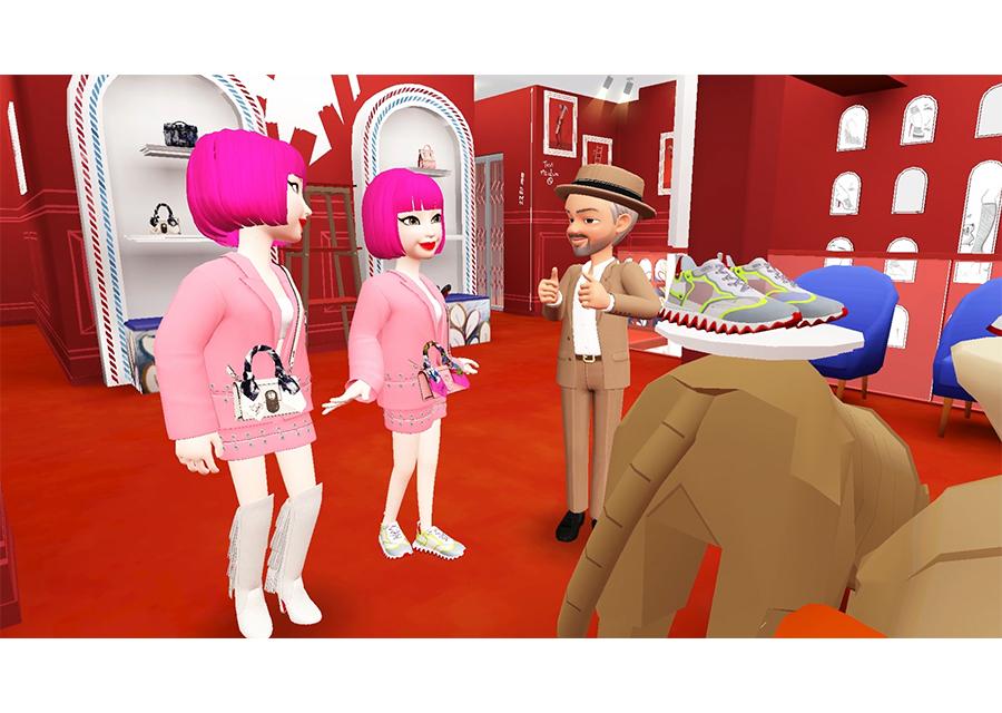 クリスチャン ルブタンの新作が韓国発のソーシャルゲームアプリ ZEPETOで発表♡