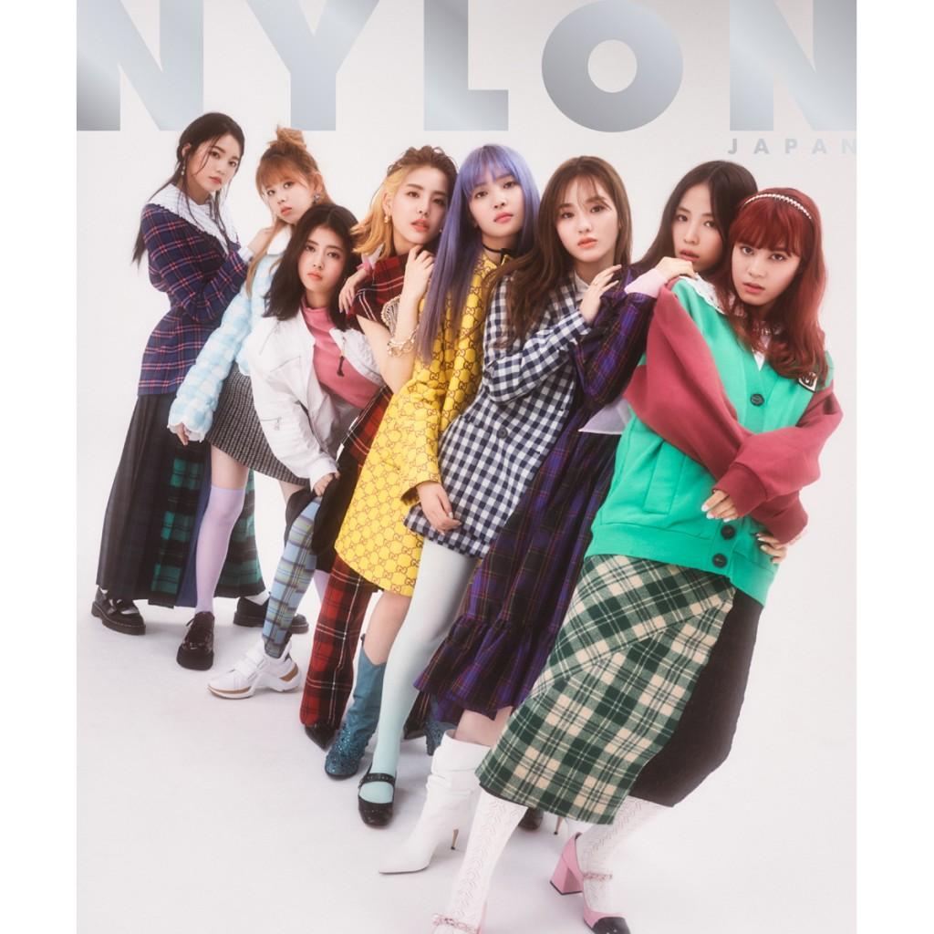 グローバル・ガールズグループ《 NiziU 》が  ファッション誌世界初登場!  NYLON JAPAN史上初の女性グループW表紙! ファッションストーリーは40ページもの大展開! そしてスマホやパスケースに入れて楽しめる NiziU両面ミニフォトカード特別付録付き!