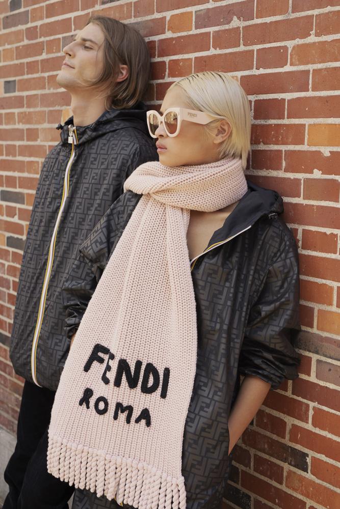FENDIがレインウェアブランド  K-WAY®とのカプセルコレクションをローンチ
