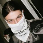 alexanderwangからスタイリッシュなマスクが登場!