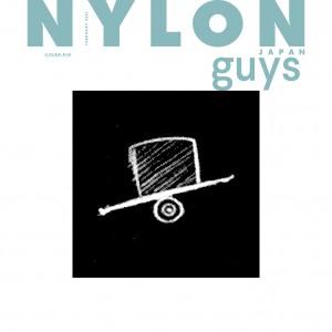 NYLON guys表紙に《Eve》が初登場!  本誌初登場&ファッション誌初カバーながら20ページの大特集!  Eveのアイコンを使用した大小2サイズのフォトカード付き!