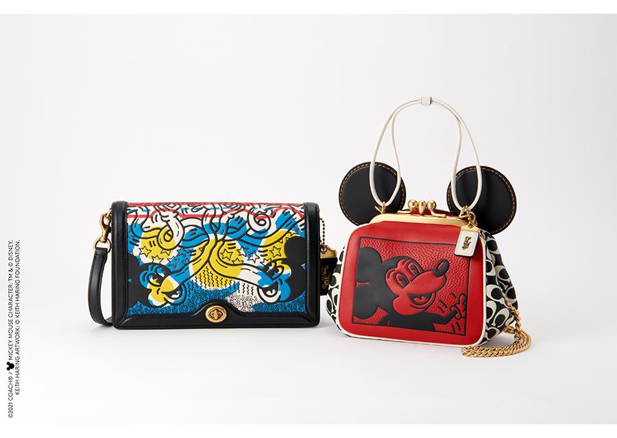 COACHからミッキーマウスとキース・ヘリングのポップな新コレクションが登場!