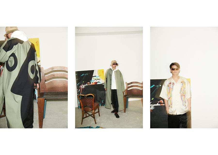 ENFÖLDとアーティスト.m.j.k.によるコラボコレクションが登場