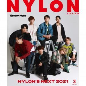 ジャニーズ初のNYLON JAPAN表紙に《Snow Man》が遂に登場!!! guys表紙には《YOASOBI》がファッション誌初表紙&特別付録に両面ポスター!