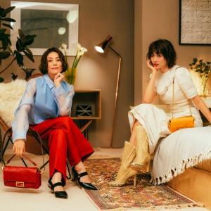 FENDIのジャパンブランドアンバサダーに就任した米倉涼子とヨンアの #BaguetteFriendsForever 最新エピソードが公開