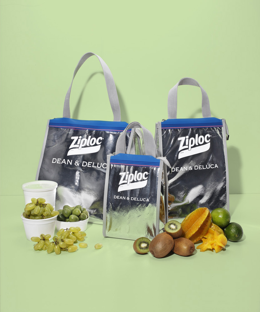 Ziploc® × DEAN & DELUCA × BEAMS COUTUREのトリプルコラボによるクーラーバッグの再販が決定!
