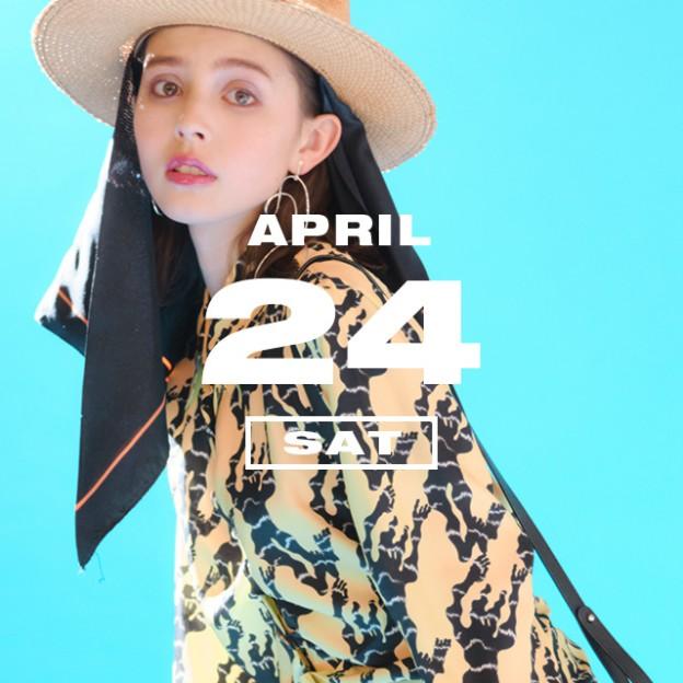 365 ANNIVERSARY CALENDAR 今日は何の日? 〜4/24〜