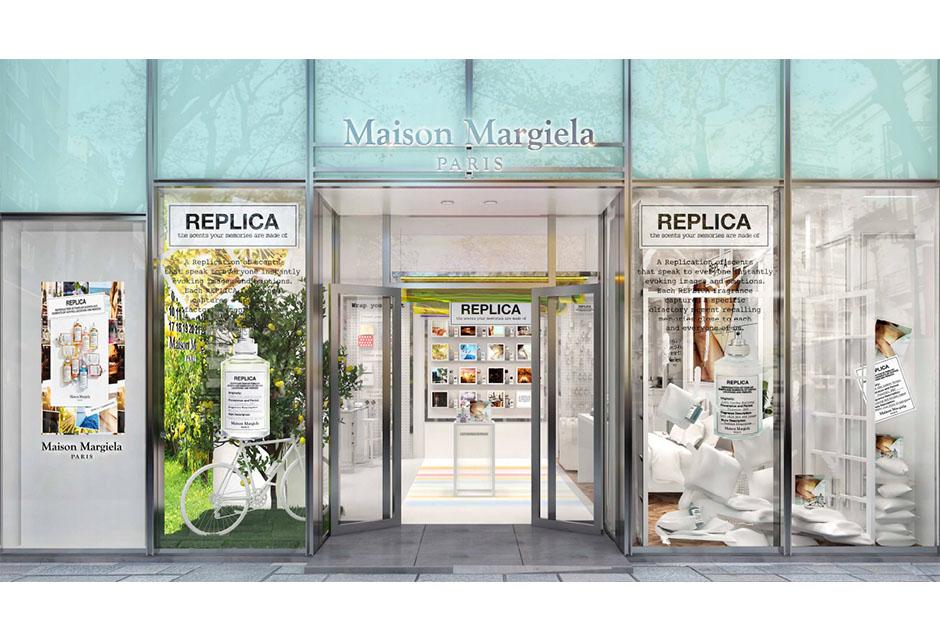 メゾン マルジェラ『レプリカ』フレグランスのポップアップストアが日本初登場!