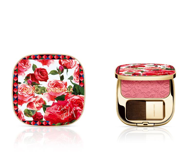 愛と情熱の象徴であるバラで飾られたドルチェ&ガッバーナ ビューティの限定チークが登場