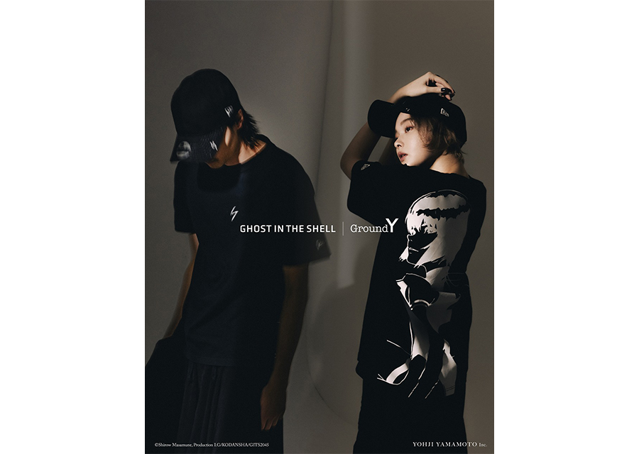 Ground Y × GHOST IN THE SHELL SAC_2045 × New Eraのトリプルコラボコレクションに注目!