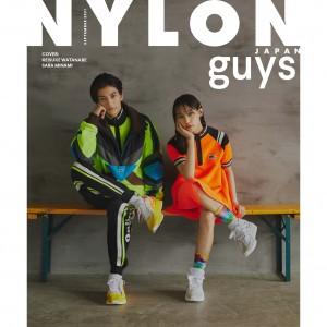 初共演にして初カバー! 渡邊圭祐&南沙良がNYLON guysでラブストーリーを熱演!