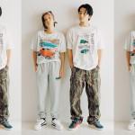 北村匠海と高橋春織、自由気ままなスニーカーファッション