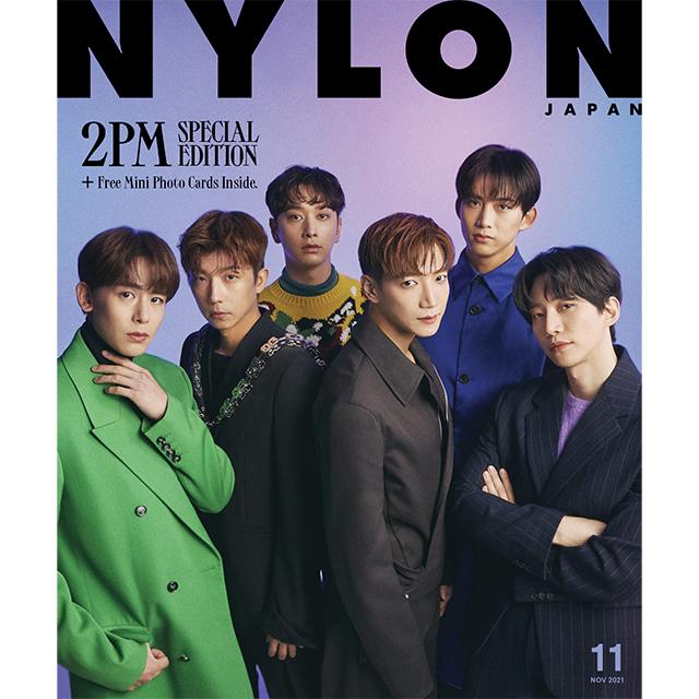 9月28日(火)発売! 『NYLON JAPAN 11月号 限定版』で《2PM》が堂々の初登場&2PM日本で史上初のWカバー! 特別付録《2PMミニフォトカード》付き!